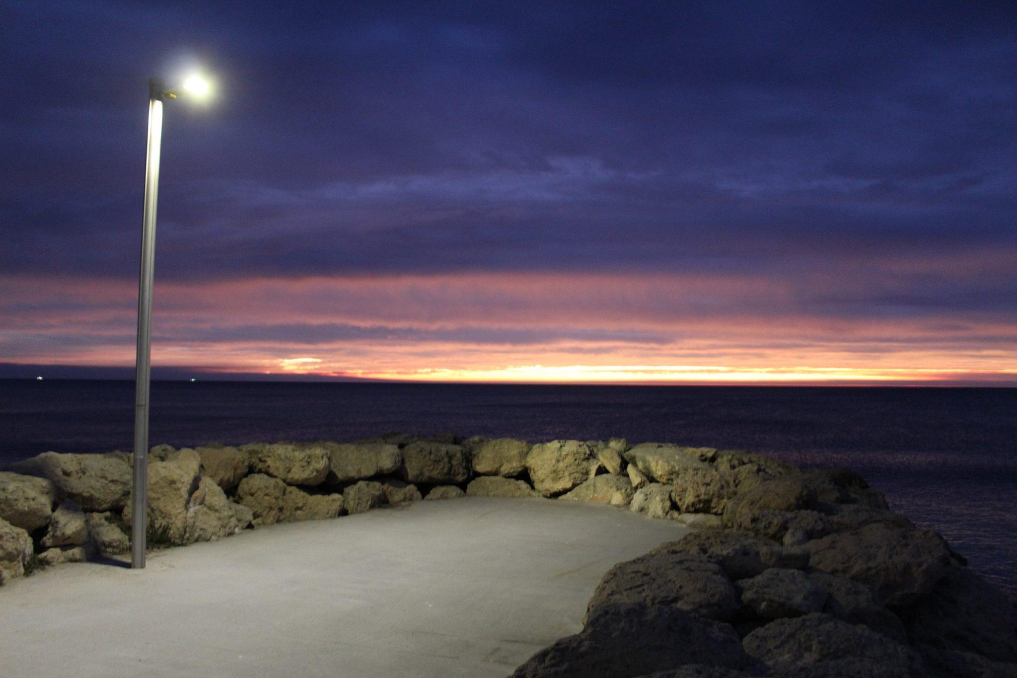 Burns.beach.sunset